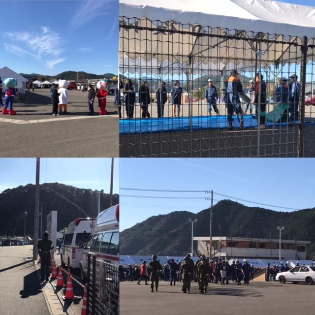 須崎市防災訓練にクリスプロジェクトスタッフが参加
