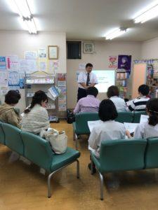 病院通薬局あぞの店にて勉強会開催。